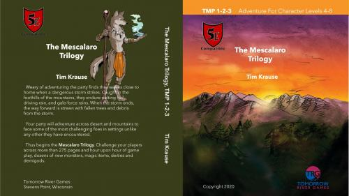 The Mescalaro Prophecy Trilogy for Dungeons and Dragons 5E