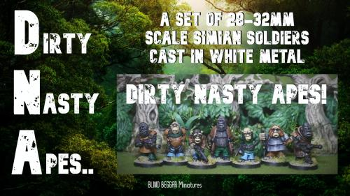 DNA: Dirty Nasty Apes!