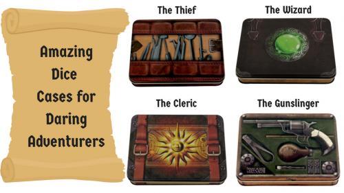 Amazing Dice Cases for Daring Adventurers