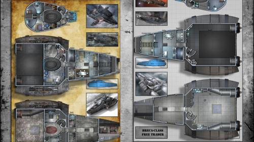 Free Trader / Grendel - Starship Deckplans