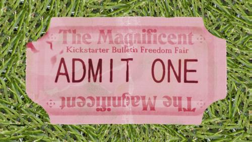 The Kickstarter Bulletin Freedom Fair - End My Self-Slavery