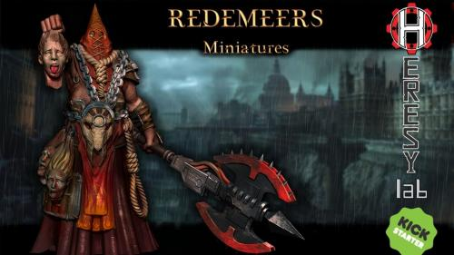HeresyLab - Redemeers Fantasy / Scifi Resin Miniatures & STL