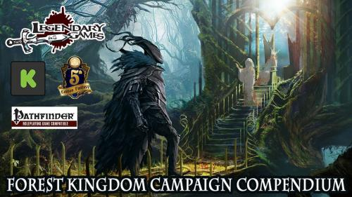 Forest Kingdom Campaign Compendium for Pathfinder and 5E