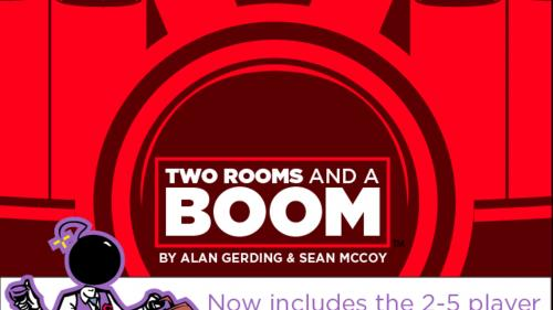 TWO ROOMS and a BOOM!