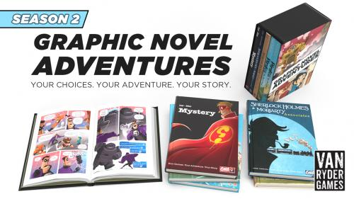 Graphic Novel Adventures - Season 2