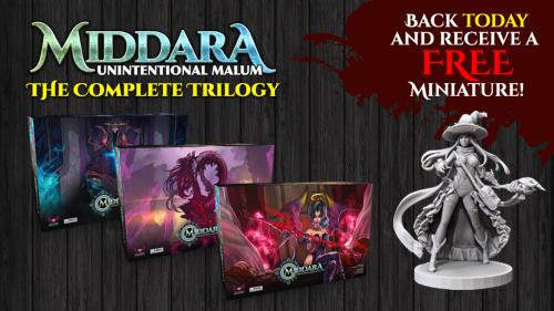 Middara: Unintentional Malum - The Complete Trilogy