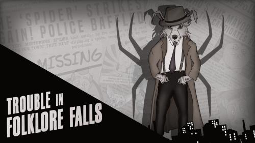Trouble in Folklore Falls: A Play-At-Home Puzzle Game