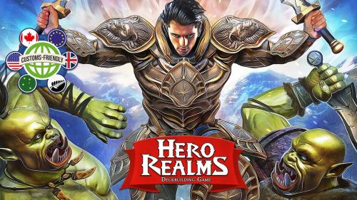 Hero Realms, a Deckbuilding Adventure Card Game