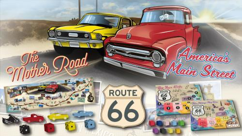 Route 66 The Mother Road, Sid Sackson; America s Main Street