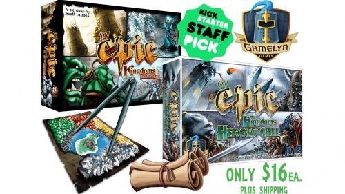 Tiny Epic Kingdoms Heroes  Call & TEK 2nd Edition