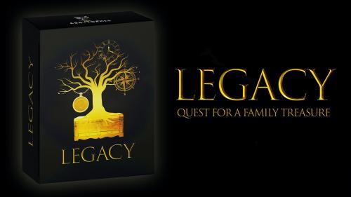 LEGACY: Quest for a Family Treasure - Escape box
