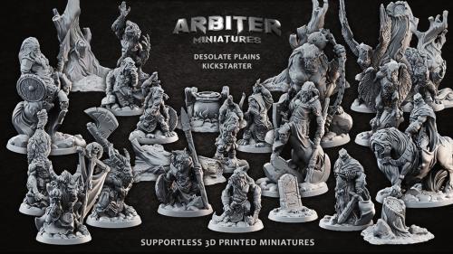 Arbiter Miniatures Kickstarter 2: Desolate Plains