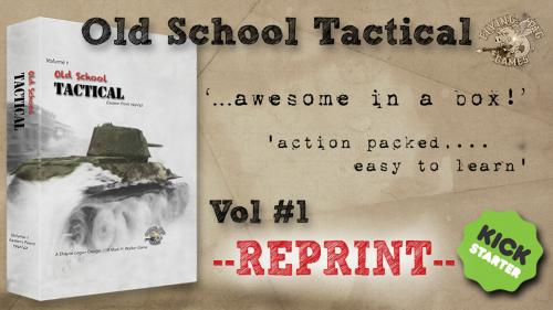 Old School Tactical Volume I REPRINT!