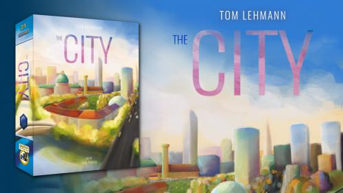 The City  by Tom Lehmann, in English for the first time!