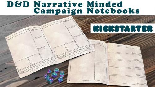 A Better DnD Campaign Notebook