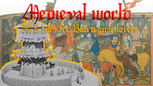 Medieval world - 3D printing (part 2)