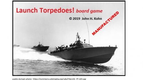 Launch Torpedoes! board game