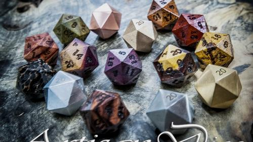Artisan Dice Does Handcrafted Polyhedrals