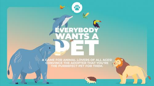 Everybody Wants A Pet | Card game