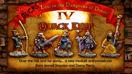 Ducks Lost in the Dungeons of Doom IV: Quack Keep