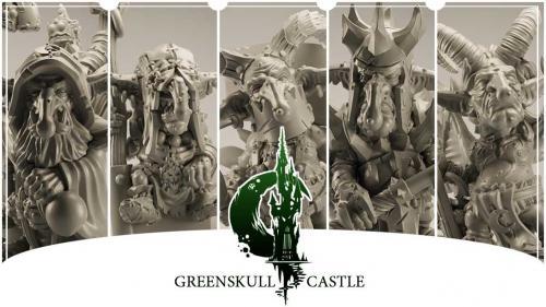 Greenskull Castle - Miniatures