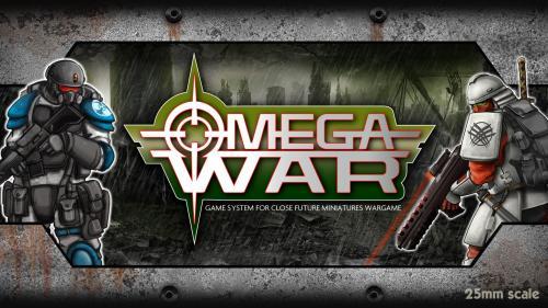 OMEGA WAR - CLOSE FUTURE MINIATURE WARGAME