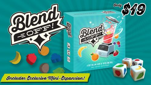 BLEND OFF! (Relaunch) - A Speed Dice Game!