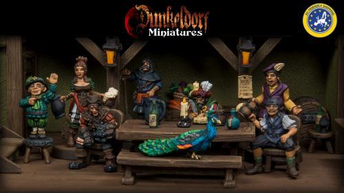 Dunkeldorf: The Prancing Peacock - RPG Tavern Miniatures