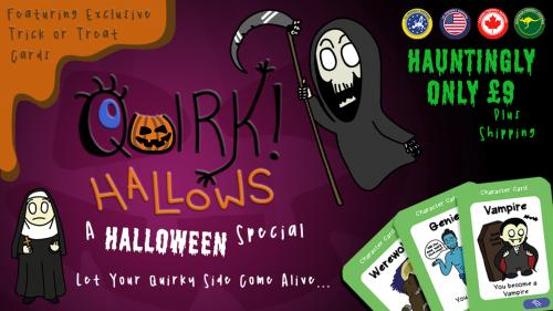 Quirk! Hallows: A Halloween Special, Family Card Game