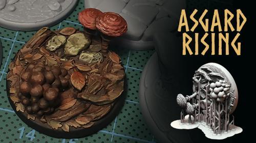ASGARD RISING: 3D printable Bases