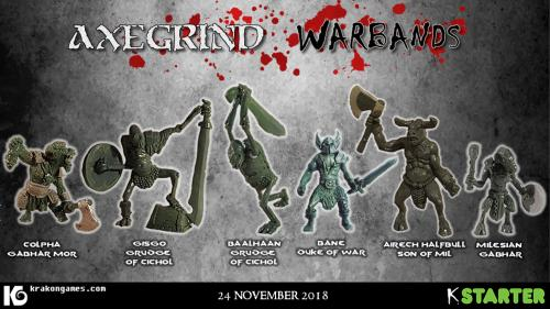 Axegrind: Warbands