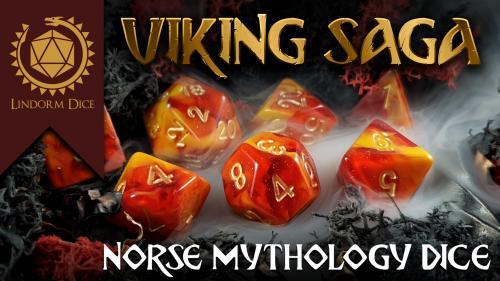 Norse mythology dice - Viking Saga