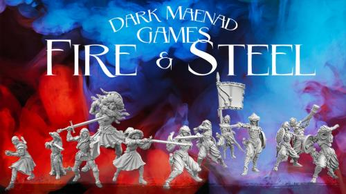 Dark Maenad: Fire and Steel
