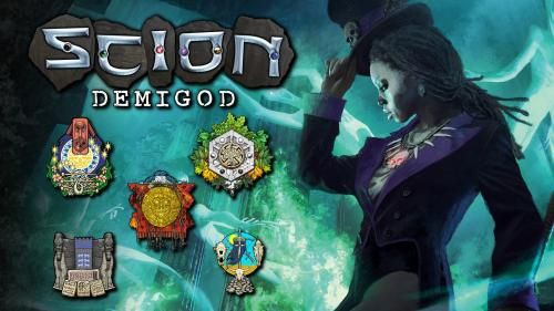 Scion: Demigod - Book 3 for the Scion Second Edition RPG