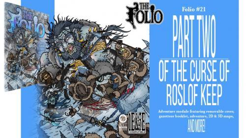 The Bane of Roslof Keep high level 1E & 5E gaming adventure
