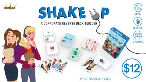 Shake Up - The Reverse Deck-building Office Card Game