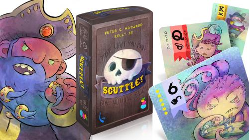 Scuttle! - The pirate card game for all ages