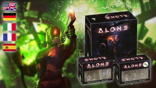 Alone™: 2nd Print Run with New Contents and Localizations