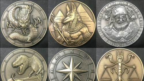 Dice Coins Fall Release and new God & Goddess Coins