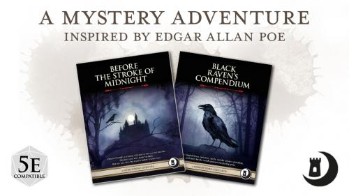 A Mystery Adventure Inspired by Edgar Allan Poe for 5e