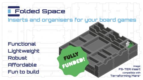 Folded Space - Board Game Inserts and Organisers