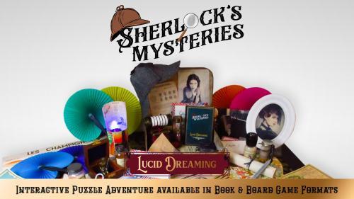 Sherlock s Mysteries: Interactive Puzzle Adventure