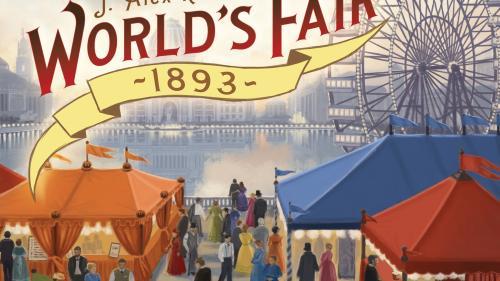 World s Fair 1893 - Board Game