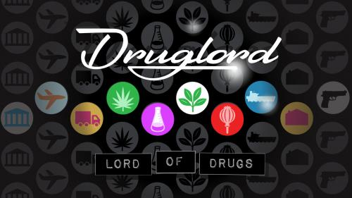 Druglord: Lord of Drugs Board Game, January 2019 Print