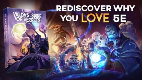 Valda s Spire of Secrets: A Colossal Expansion for DnD 5E