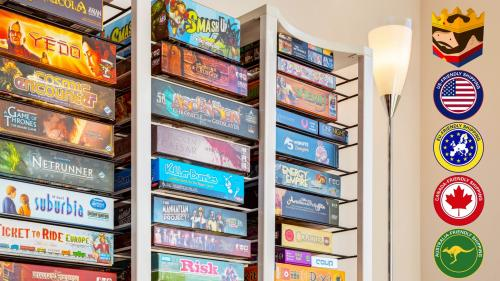 BoxThrone - The Modular Board Game Shelving System