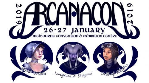 Arcanacon 2019 Games Convention