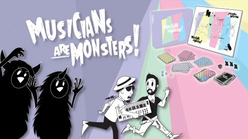 Musicians are Monsters: The Anti-Bored Game