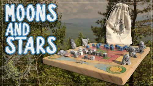 Moons & Stars - Handmade Strategy Boardgame