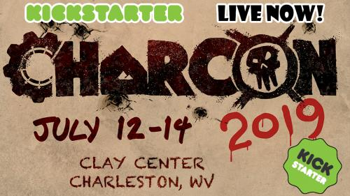 CharCon 2019 - THE West Virginia Gaming Convention